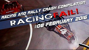 Racing and Rally Crash Compilation Week 08 February 2016