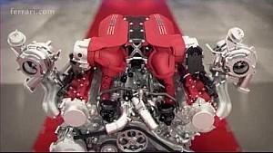 Ferrari 488 GTB - Powertrain