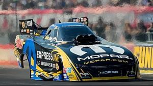 Matt Hagan wins in Funny Car at the #ChevroletPerfUSNats