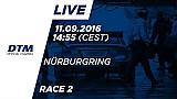 Наживо: Гонка 2 - DTM Нюрбургринг 2016