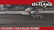 World of Outlaws Craftsman Sprint Cars Silver Dollar Speedway September 9th, 2016 | Highlights
