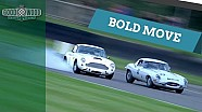 Aston Martin DB4 GT crashes after bold move