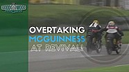 John McGuinness Given Passing Pat at Full Speed at Revival!