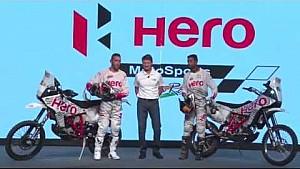 Hero Motosports Dakar presentation