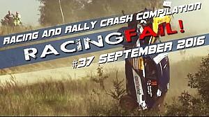 Racing and Rally Crash Compilation Week 37 September 2016