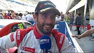 Interview - José María López wins WTCC Main Race in China