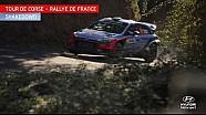 Tour de Corse Shakedown - Hyundai Motorsport 2016