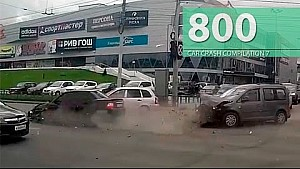 Car Crash Compilation # 800 - September 2016