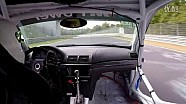 时速280kph赛车车门脱落