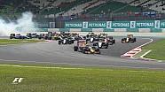 GP de Malaisie - Le départ