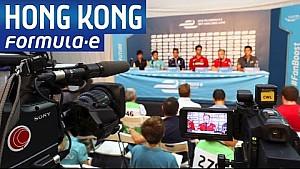 ePrix di Hong Kong: la conferenza pre-gara