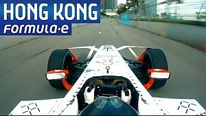 Onboard di Loïc Duval a Hong Kong