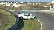 Crash met Aston Martin Vantage GT4 op Zandvoort