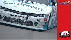 Shock and awe: Chastain's car gets unexpected add
