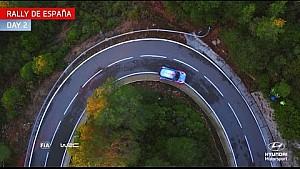 Rally Spain Day Two - Hyundai Motorsport 2016
