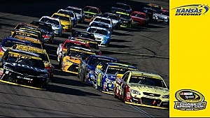 Take a look at Harvick's race-winning restart