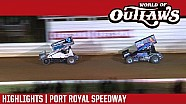 World of Outlaws Craftsman Sprint Cars Port Royal Speedway October 15th, 2016 | Highlights