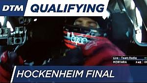 Wittmann & Mortara starting side by side - DTM Hockenheim Final 2016