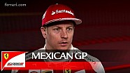 The Mexican GP with Kimi Raikkonen - Scuderia Ferrari 2016