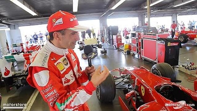 Ferrari Марк Жене за кулисами Мирового финала