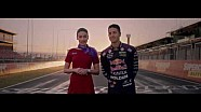 Jamie Whincup stars in Virgin safety video
