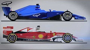 Giorgio Piola's F1 2017 Analysis - Autosport Awards 2016