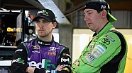 Kyle Busch and Denny Hamlin react to new Camry race car