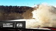 Le crash de Kris Meeke au Rallye Monte-Carlo