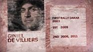 Rally Dakar 2013: Giniel de Villiers Profile