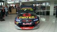 Casey Stoner unveils V8 Supercar