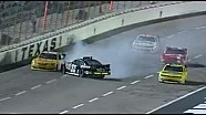 Kyle Larson nearly crashes at Texas!!