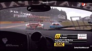 Crash Spa ADAC GT Masters 2013
