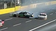 Armstrong Crashes in Final Laps at Charlotte