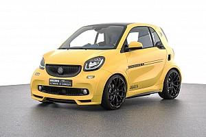 Automotive Noticias de última hora Un Smart deportivo... y eléctrico preparado por BRABUS