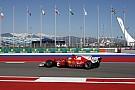 Vettel, el más rápido del viernes en Sochi y los Mercedes se esconden