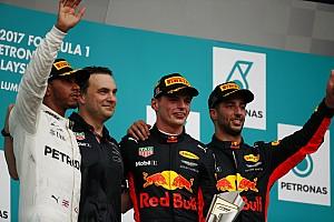 F1 比赛报告 维斯塔潘登顶雪邦告别战