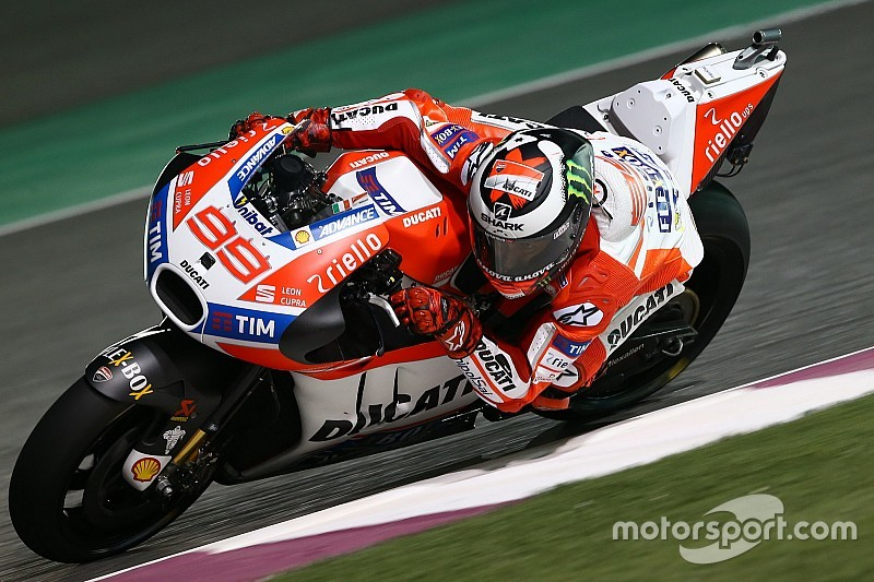 Qatar Motogp Jorge Lorenzo Says Front Row Possible From Q1