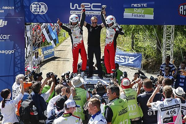 【WRC】トヨタに2勝目をもたらした新人ラッピ「なんて素晴らしいラリー!」
