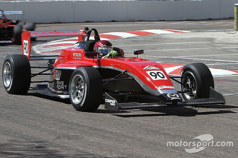 Toronto USF2000: Thompson completes victorious double in homeland