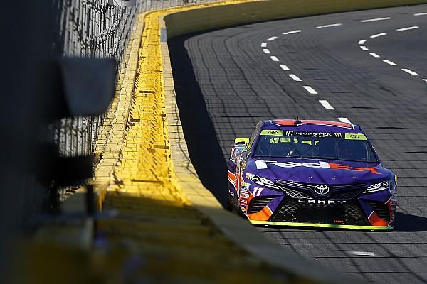 NASCAR Cup NASCAR in Charlotte: Denny Hamlin erstmals 2017 auf Pole