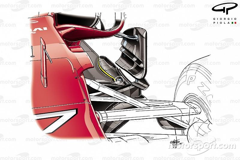 Ferrari: in Bahrain è stato irrobustito il fondo vicino allo slot!