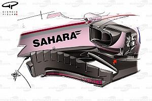 Technikai elemzés: A jó Force India-teljesítmény és ami mögötte van