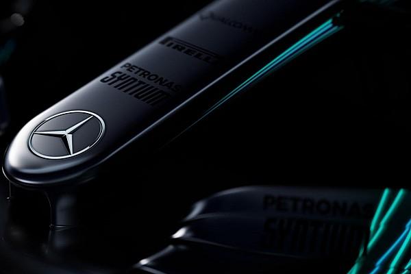 F1 Noticias de última hora Mercedes lanza un avance de las fotos de su coche para 2017