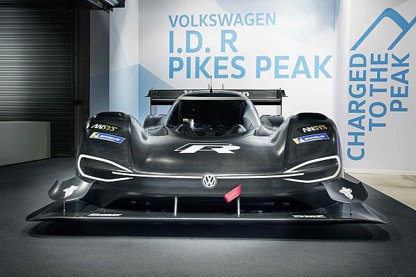 Hillclimb Breaking news VW reveals electric-powered Pikes Peak contender