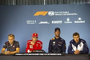 Formula 1 Press conference Austrian GP: Thursday's press conference