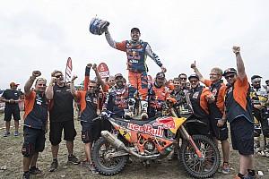 Dakar Intervista Dakar, Walkner orgoglio KTM: