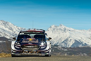 WRC Leg report Monte Carlo WRC: Ogier leads after chaotic early stages