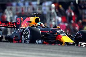Formel 1 Reaktion Red Bull in Austin: Ricciardo unwissend, Verstappen mit Fehlern