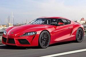 Automotive Breaking news Toyota Supra rendered ahead of Goodwood debut
