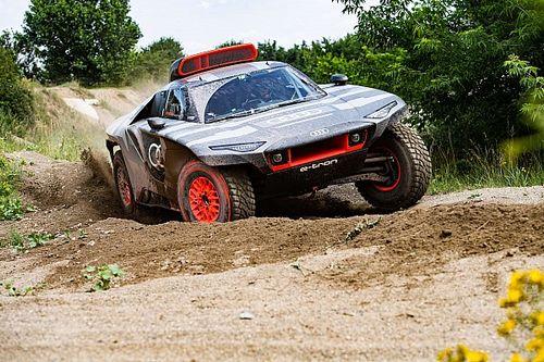 Fotogallery: la nuova Audi RS Q e-tron per la Dakar
